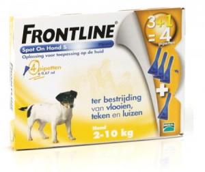afbeelding Frontline - Spot On S (2 - 10kg)