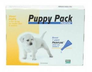 afbeelding Frontline - Puppy pack