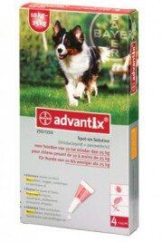 afbeelding Advantix - Hond 250 (10-25kg)