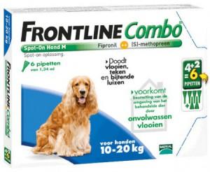 afbeelding Frontline - Combo Hond M