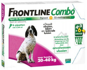afbeelding Frontline - Combo Hond L