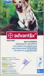afbeelding Advantix - Hond 400 (25-40kg)