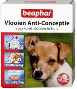 afbeelding Beaphar - Vlooien Anti-Conceptie Hond
