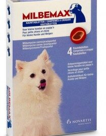 afbeelding Milbemax - Kauwtabletten Kleine Honden