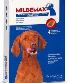 afbeelding Milbemax - Kauwtabletten Hond