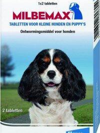 afbeelding Milbemax - Puppy & Kleine honden